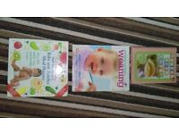 Annabel Karmel weaning/baby and toddler meal planner books