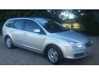Ford Focus Estate 2.0 Ghia. Good Condition, 74k miles, MOT till June 2017, Rear park sensors