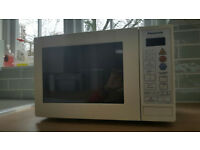 Panasonic NN-K354BBPQ- 800W Combination Touch Microwave Oven and Grill -White- Used