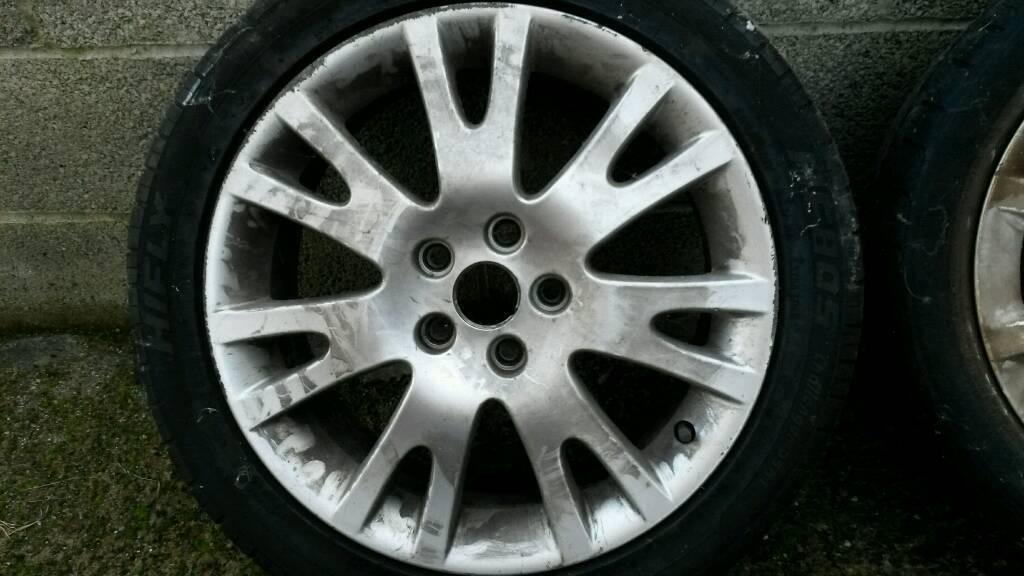 Renault laguna wheels x 2