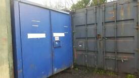Secure office and storage container