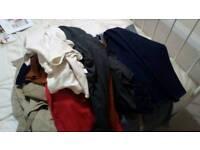 Men's joblot clothes