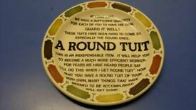 Plate (A Round Tuit)