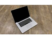 "Macbook Pro 15"" w/Retina Display | 256gb Storage | 16gb Ram | 2.3ghz Quad Core"