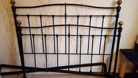 John Lewis Victorian Style Bed Frame (fits any kingsize bed) ONO