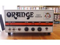 Like New Orange Tiny Terror 15/7w guitar all valve amp with case