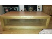 Oak Furniture Land Bevel Coffee Table