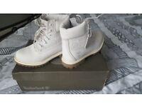 Girls size 4 timberland boots