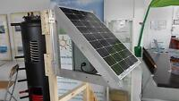 LED lights - solar off-grid illumination system
