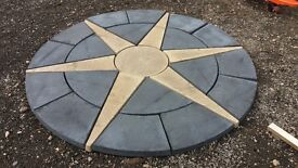 Paving slabs(different sizes), Star circle 1.8m and much more