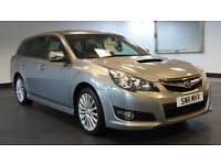 2011 11 SUBARU LEGACY 2.0 D SE NAVPLUS 5D 150 BHP DIESEL*PART EX WELCOME*FINANCE AVAILABLE*WARRANTY*