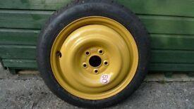 Honda space saver wheel or alloy