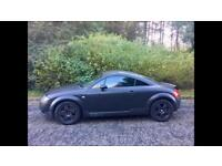 Wrapped MATT Black Audi TT, Just 63000 MILES, LONG MOT, FULL LEATHER HEATED SEATS !!!