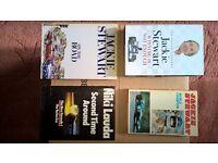 JACKIE STEWART, NIKI LAUDA BOOKS
