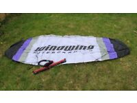 Windwing Skyfoil 220 Trainer Kite - Kite boarding, almost new condition