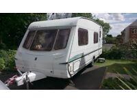 6 berth touring caravan Abbey aventura 330