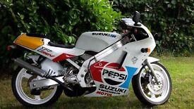 suzuki rgv250 vj21 pepsi colours 26,000 miles 12months mot