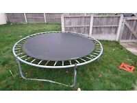 8ft trampoline for free