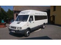 Iveco 49-10 MINIBUS 20 SEATS LHD LEFT HAND DRIVE ORGINAL VERY GOOD FOR EXPORT