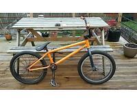 Bmx ramp/jump bike