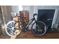 Carrera Abyss Junior Hybrid Bike-very good condition - 26 Inch- new tyres and headset