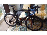 New Carbon Fibre Aero Road Bike