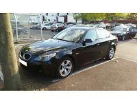 2006 BMW 520d SE - Full Black Leather Interior - Full Service History - Front/back parking sensors