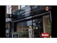 Assistant Manager needed in Established Beauty salon in central London. Minimum 4 years experience.