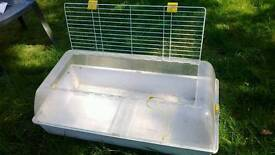 Small animal cage for guinea pig or similar
