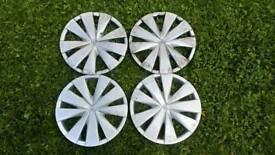 Toyota aygo wheel trims
