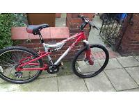 Apollo fs26 mountain bike Disc Brakes