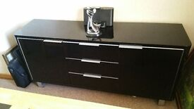 Black Sideboard, Dining room, good condition