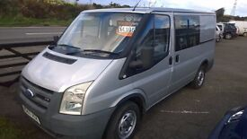 ford transit 85 t260s swb 2007, registration, 2.2 lt turbo diesel , 109,000 miles, day van