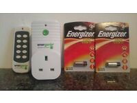 Energenie Remote control plug socket x 1