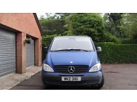 MERCEDES BENZ VITO 109 CDI 3 YEAR 2008 ONE LADY OWNER FROM NEW
