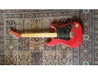 Guitar - electric Kramer guitar red