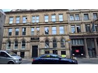 Victoria St, Liverpool. Stylish top floor single bed apartment with GCH & DG. Part furnished.