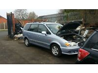 04 diesel hyundai trajet crtd gsi for breaking all parts available
