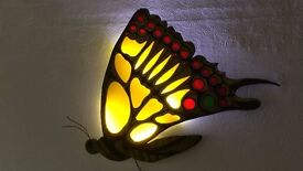 Wall Lamp Decoration , Hand made Butterfly