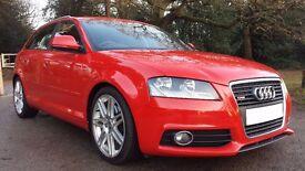 Audi A3 Sportback S-line 1.4 TFSI 7 speed S tronic auto with FSH & warranty