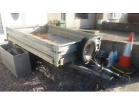 Conwy 8 x 4 braked trailer.