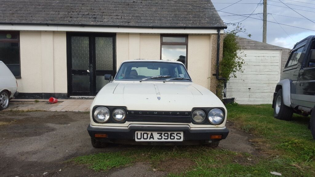 Reliant Scimitar GTE V6 Ford Barn Find Hot Rod Project Track Drift Classic Car Not Escort