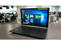 "Acer Windows 10 Laptop 15.6"" Widescreen with a very fast i3 2.53Ghz Processor"