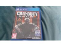 Call Of Duty black ops 3 -PS 4 version V/good condition