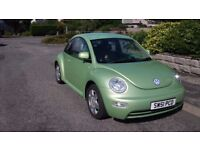 Volkswagen Beetle 2.0 litre petrol, 12 months MOT, only 71000 miles, no previous owner