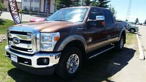2012 Ford F-350 Super Duty Lariat Loaded with 5th wheel!