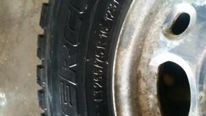 CHEVY SUMMER TIRES WITH RIMS 265/75/15