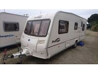 2006 Bailey Pageant Provence - 5 berth - fixed bed - awning, mover, serviced, solar panel