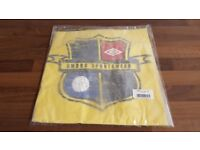 NEW - ALL SIZES - Men's Umbro Badge T-Shirt - Yellow - BNWT - Small, Medium, Large, XL - Football
