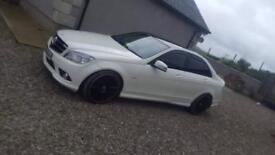 "JUNE 2010 MERCEDES C200CDI SPORT MANUAL 19""ALLOYS PRIVACY BLUETOOTH MAY PART X FINANCE AVAILABLE"